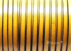 Cabedal Plano 5mm AMARELO