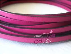Cabedal Plano 5mm ROSA