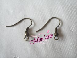 Hooks for Earrings 18mm OLD GOLD (20 units)