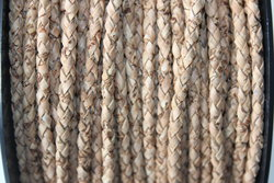 Trança Tubular de Cortiça NATURAL 4mm