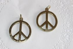 Peace 26mm Stainless Steel GOLD (unit)