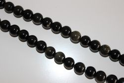 Precious Stone Accounts Strip 8mm BLACK