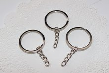 Ring of Key Chain Holders SILVER (unit)